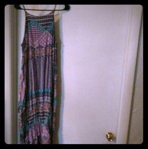Adorable colorful maxi dress
